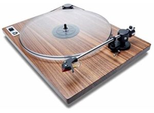 this picture shows a turntable (record players) that is budget friendly